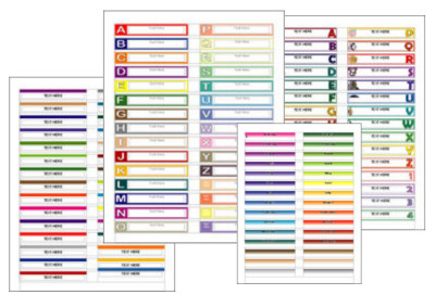 Free File Folder Label Template File Folder Labels for Openoffice Writer