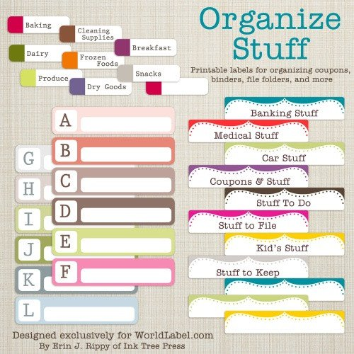 Free File Folder Label Template File Folder Labels In Printable Templates