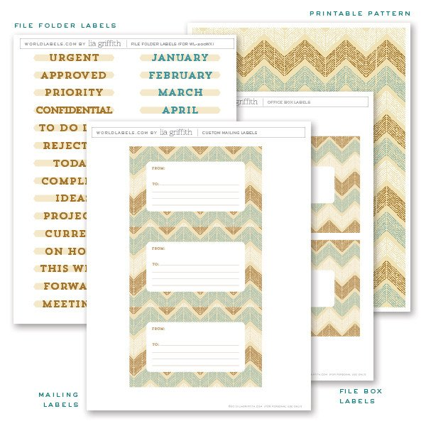 Free File Folder Label Template File Folder Labels