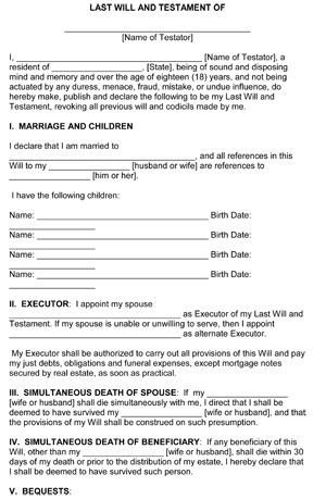 Free Florida Wills Template Best 25 Will and Testament Ideas On Pinterest