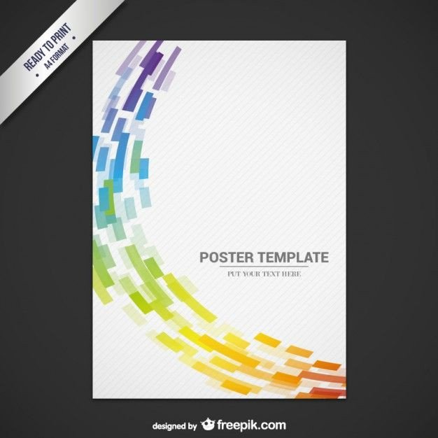 Free Flyer Templates Download Abstract Flyer Template Free Vector Graphics