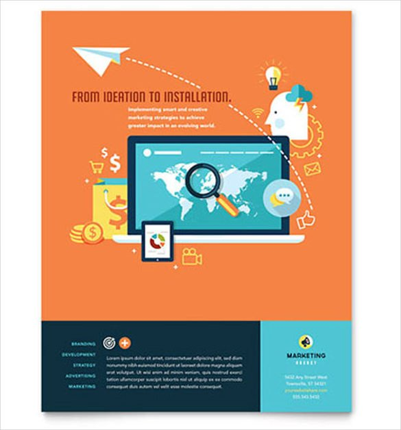 Free Flyer Templates Microsoft Word 38 Business Flyer Templates Word Psd Publisher