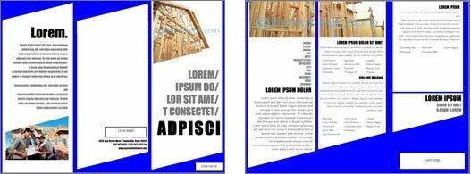 Free Flyer Templates Microsoft Word Free Brochure Templates for Microsoft Word