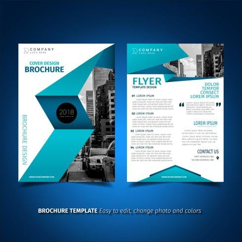 Free Flyers Designs Templates Blue Flyer Design Download Free Vector Art Stock