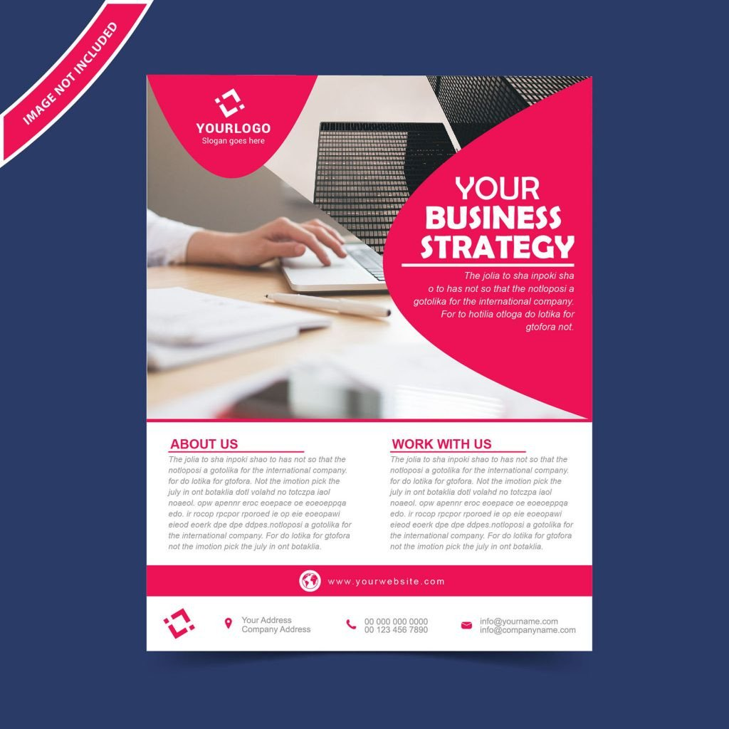 Free Flyers Designs Templates Flyer Brochure Design Template Free Download Wisxi