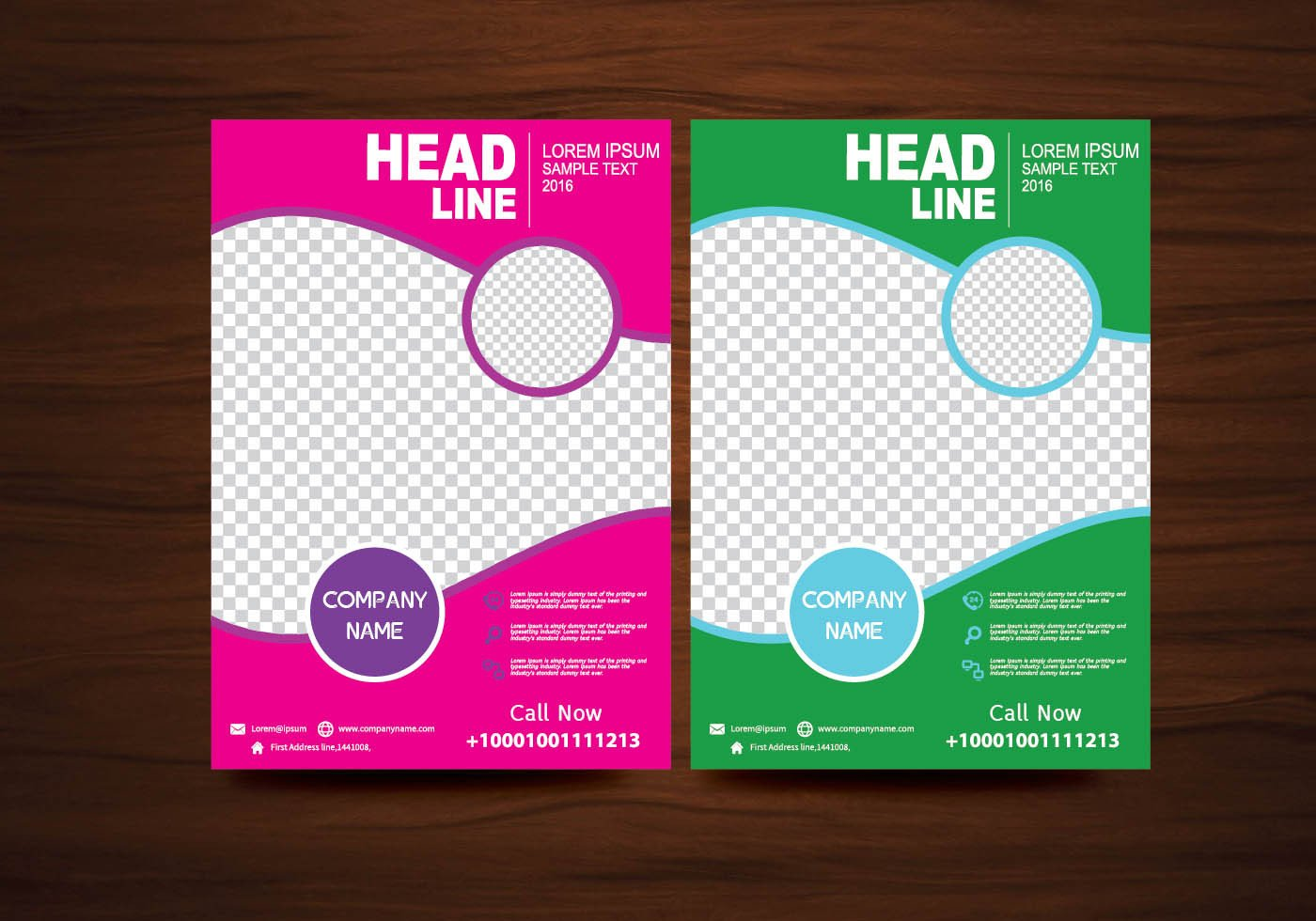 Free Flyers Designs Templates Vector Brochure Flyer Design Layout Template In A4 Size