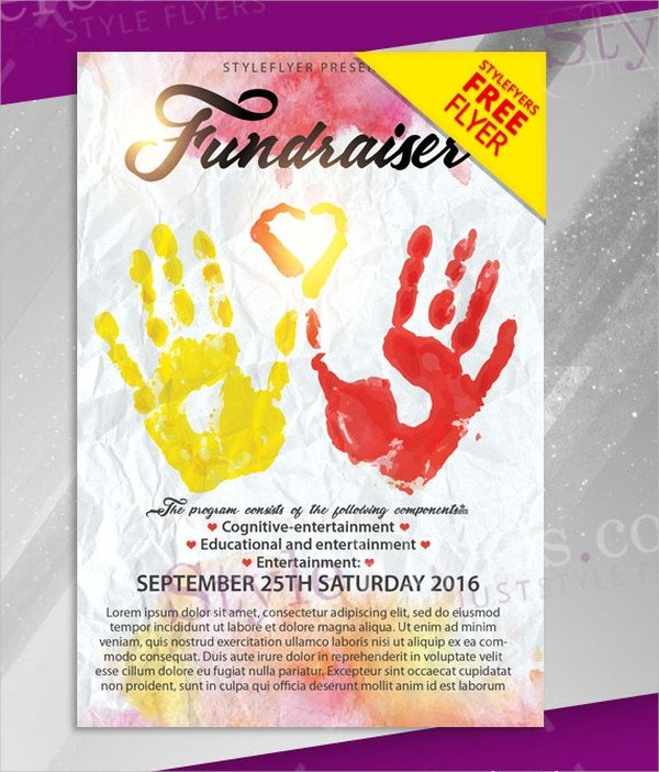 Free Fundraiser Flyer Templates 15 Free Flyer Templates Free Psd Ai Eps format