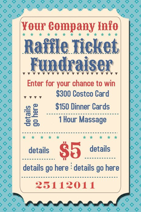 Free Fundraiser Flyer Templates Raffle Ticket Fundraiser Movie Party Flyer Poster Template