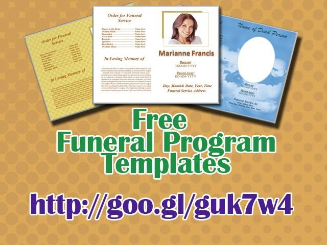 Free Funeral Program Template Word 79 Best Funeral Program Templates for Ms Word to Download