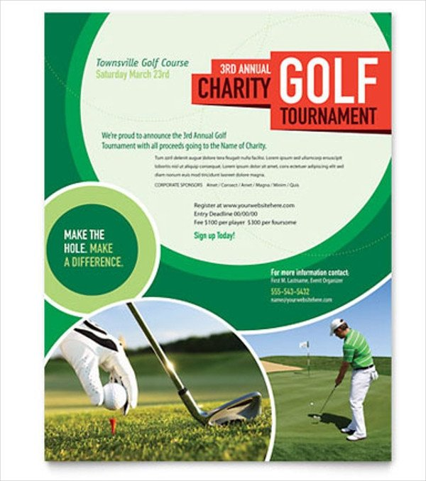 Free Golf Flyer Template 28 Golf Flyers Templates Word Psd Ai Eps Vector