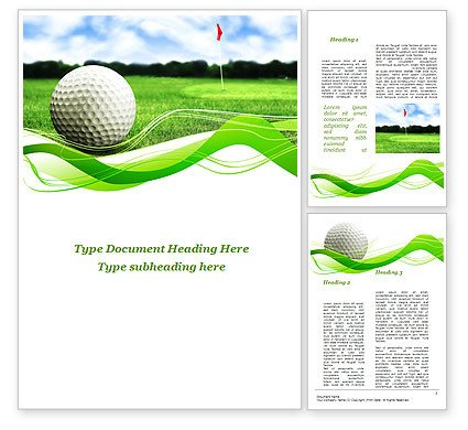 Free Golf Flyer Template Ball for Golf Word Template