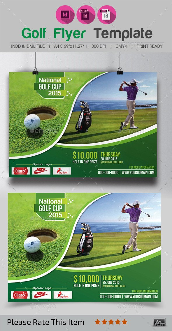 Free Golf Flyer Template Golf Flyer Template by Aam360