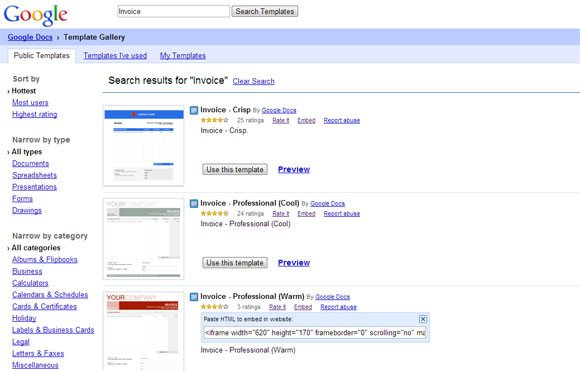 Free Google Doc Templates Google Docs Invoice Template