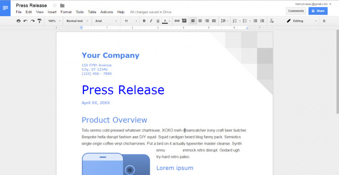 Free Google Docs Templates How to Create A Custom Template In Google Docs