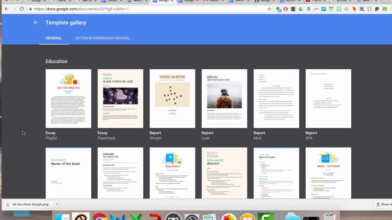 Free Google Docs Templates How to Use Google Docs Templates