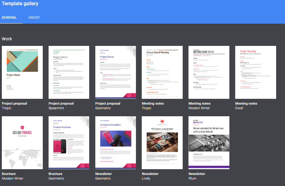 Free Google Docs Templates the Ultimate Guide to Google Docs