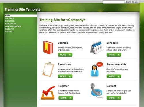 Free Google Sites Templates 10 Handy Web Templates From Google Sites