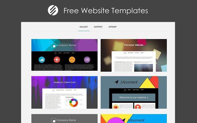 Free Google Sites Templates Free Website Templates Chrome Web Store