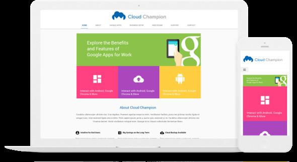 Free Google Sites Templates Google Sites Templates for Pany Websites Google Sites