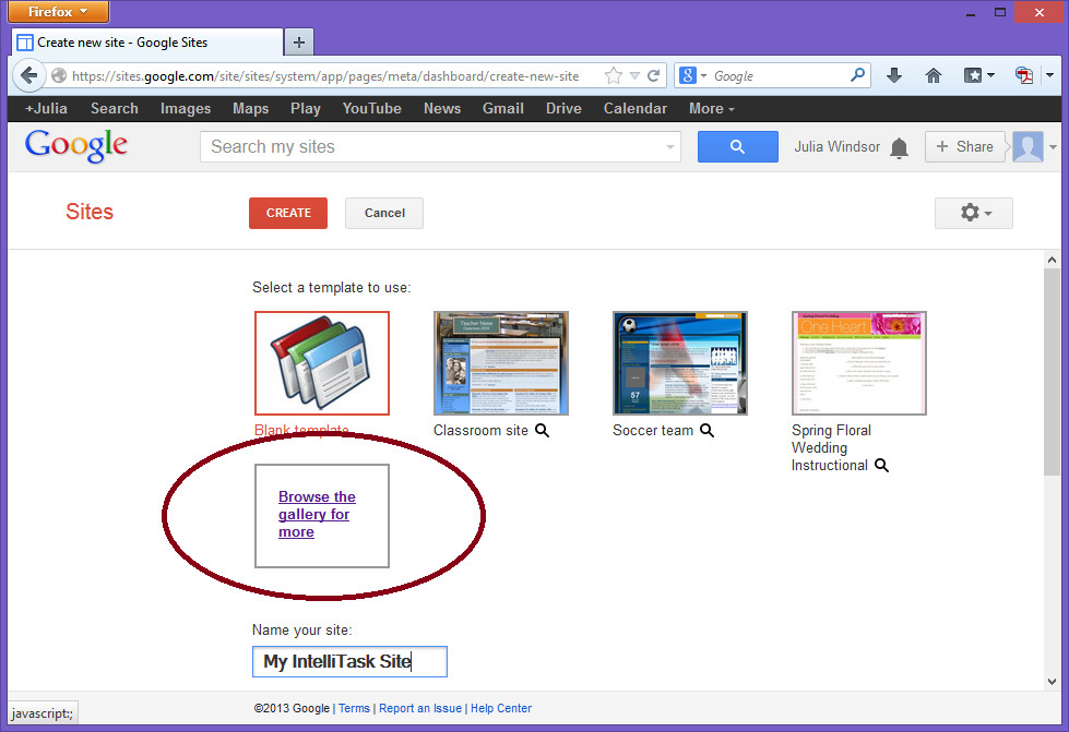 Free Google Sites Templates Intelligantt Google Site Template for Intellitask and