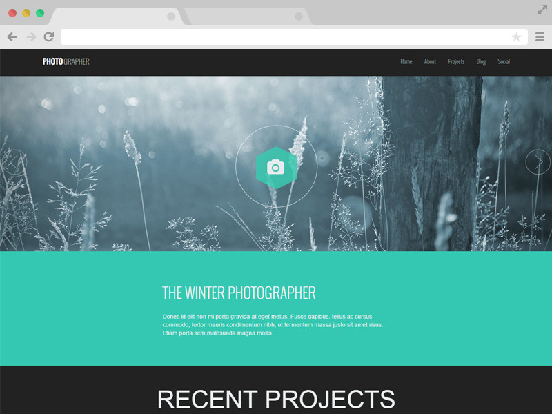 Free Google Sites Templates Responsive E Page Graphy Website Template