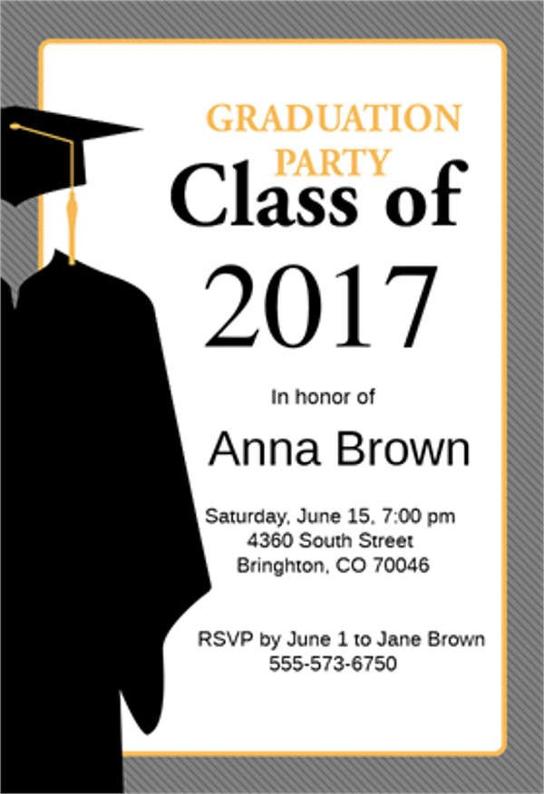 Free Graduation Announcements Templates 9 Graduation Menu Templates Psd Vector Eps Ai