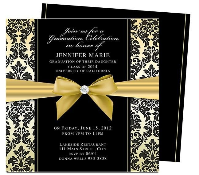 Free Graduation Announcements Templates Dandy Graduation Announcement Invitation Template
