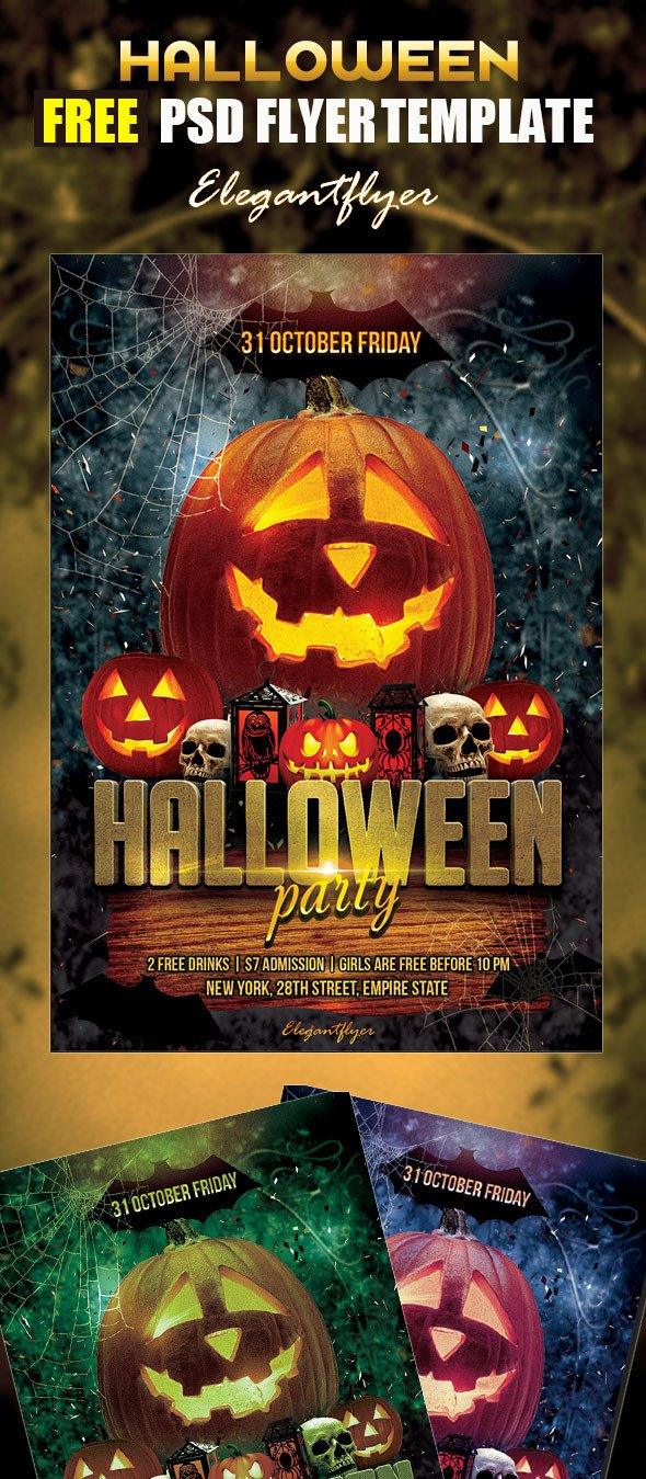 Free Halloween Flyer Templates 70 Best Free Flyer Psd Templates 2017 Designmaz