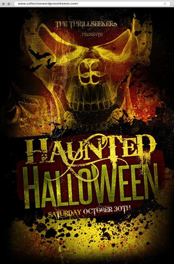 Free Halloween Flyers Templates 10 Halloween Amazing Flyer Free Psds – Best Wordpress