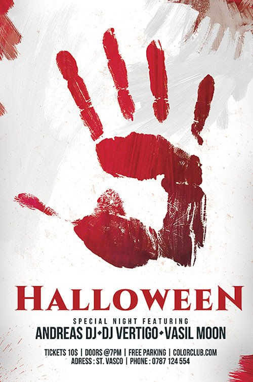 Free Halloween Flyers Templates Download the Free Halloween Flyer Template for Shop