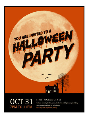 Free Halloween Flyers Templates Halloween Flyer Fice Templates