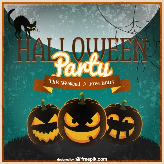 Free Halloween Invitation Templates Halloween Invitation Template Vector Vector