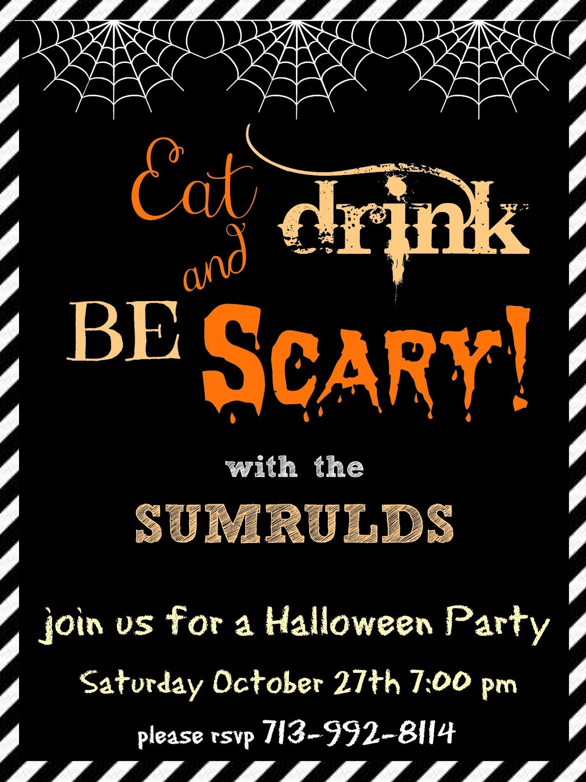 Free Halloween Invitation Templates Halloween Party Invitation Templates Free – Festival