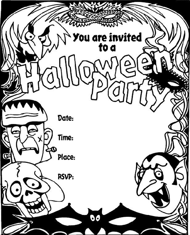 Free Halloween Invitations Templates Printable 16 Awesome Printable Halloween Party Invitations