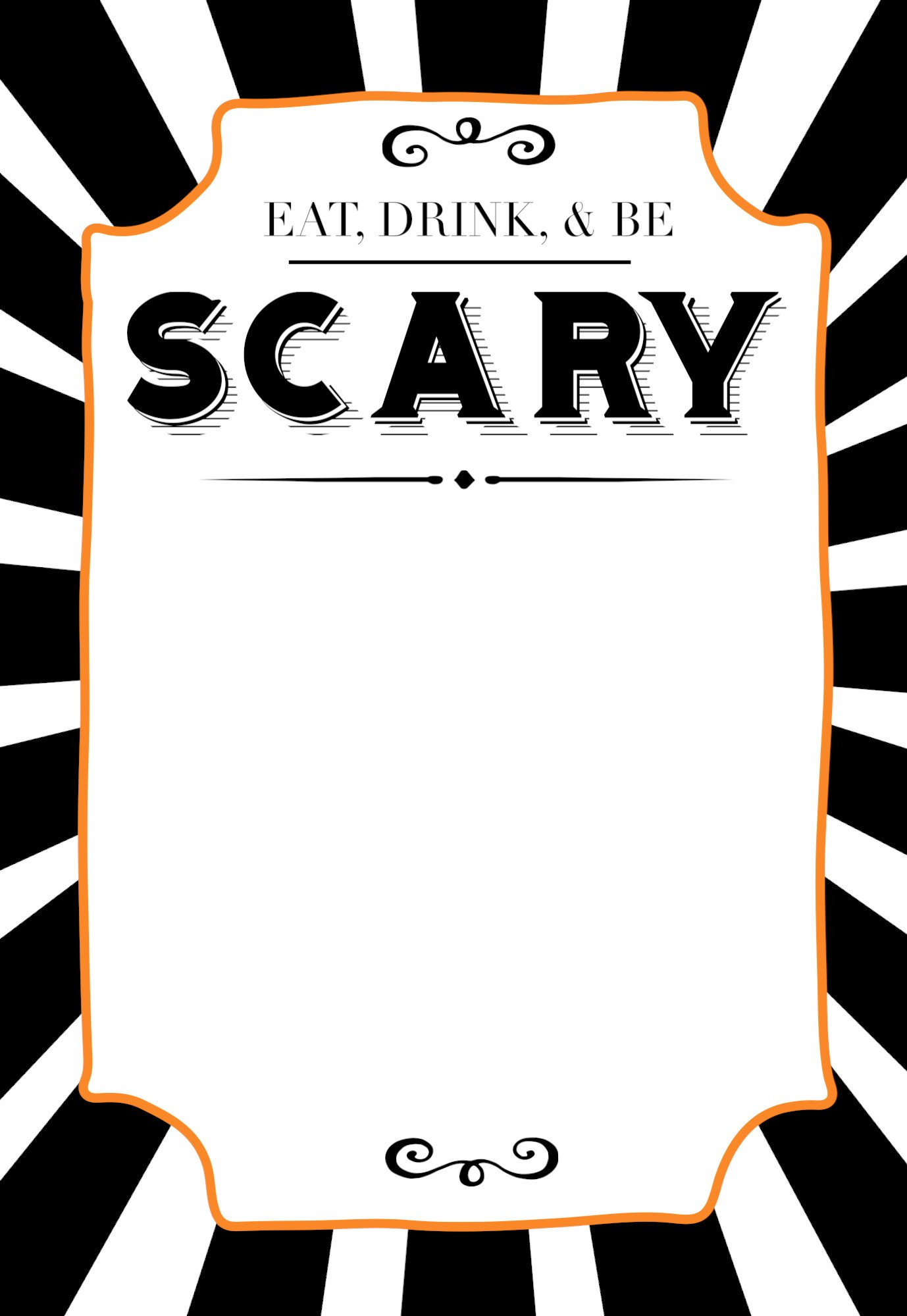 Free Halloween Invites Templates Halloween Invitations Free Printable Template Paper