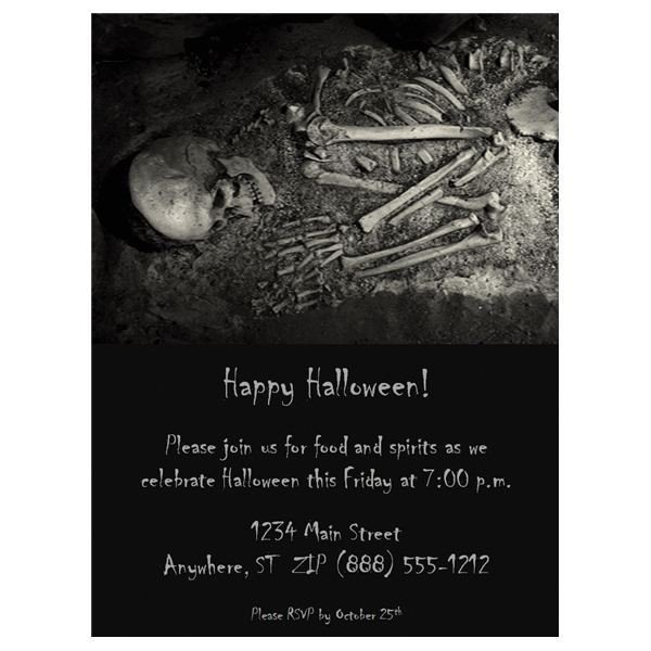 Free Halloween Invites Templates Halloween Wedding Invitations Free Templates & Fun Ideas