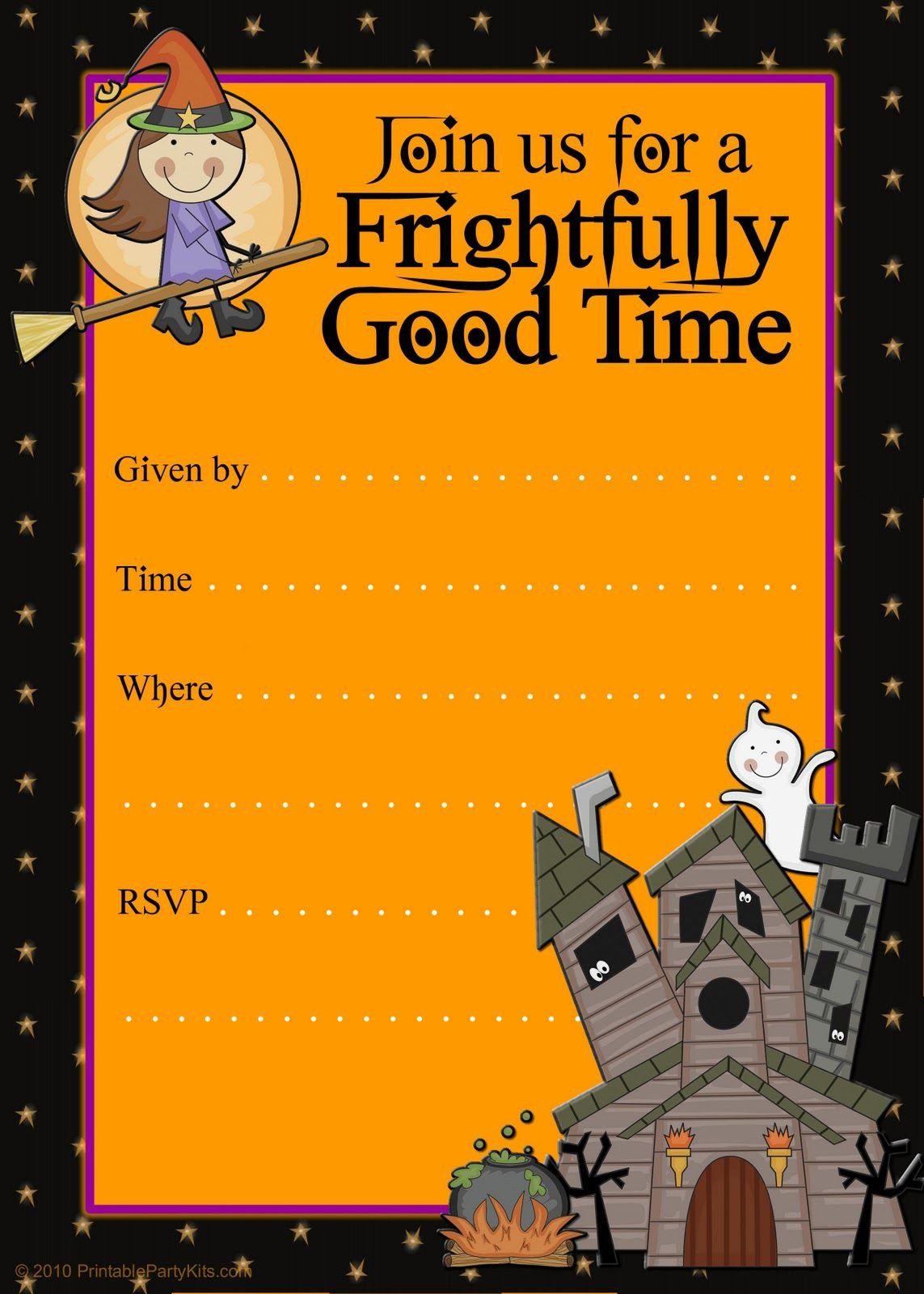 Free Halloween Party Invitation Templates Free Halloween Flyer Invitations Printable
