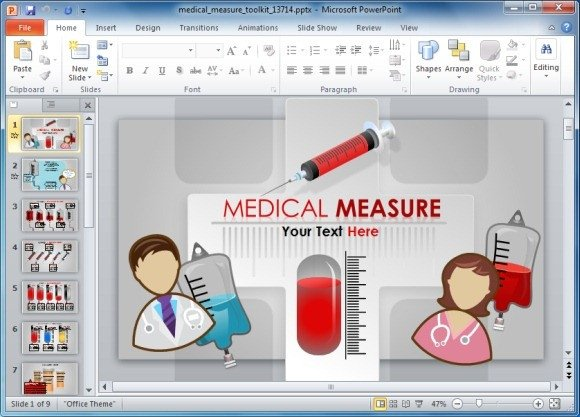 Free Healthcare Powerpoint Templates Medical Powerpoint Template toolkit