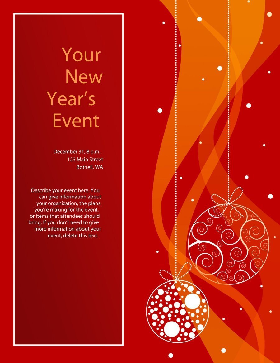 Free Holiday Flyer Templates 41 Amazing Free Flyer Templates [event Party Business