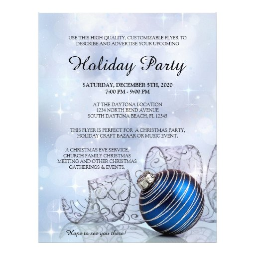 Free Holiday Flyer Templates Christmas Flyer Template for Holiday events