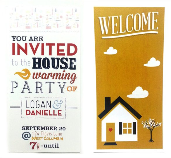 Free Housewarming Invitation Templates 35 Housewarming Invitation Templates Psd Vector Eps