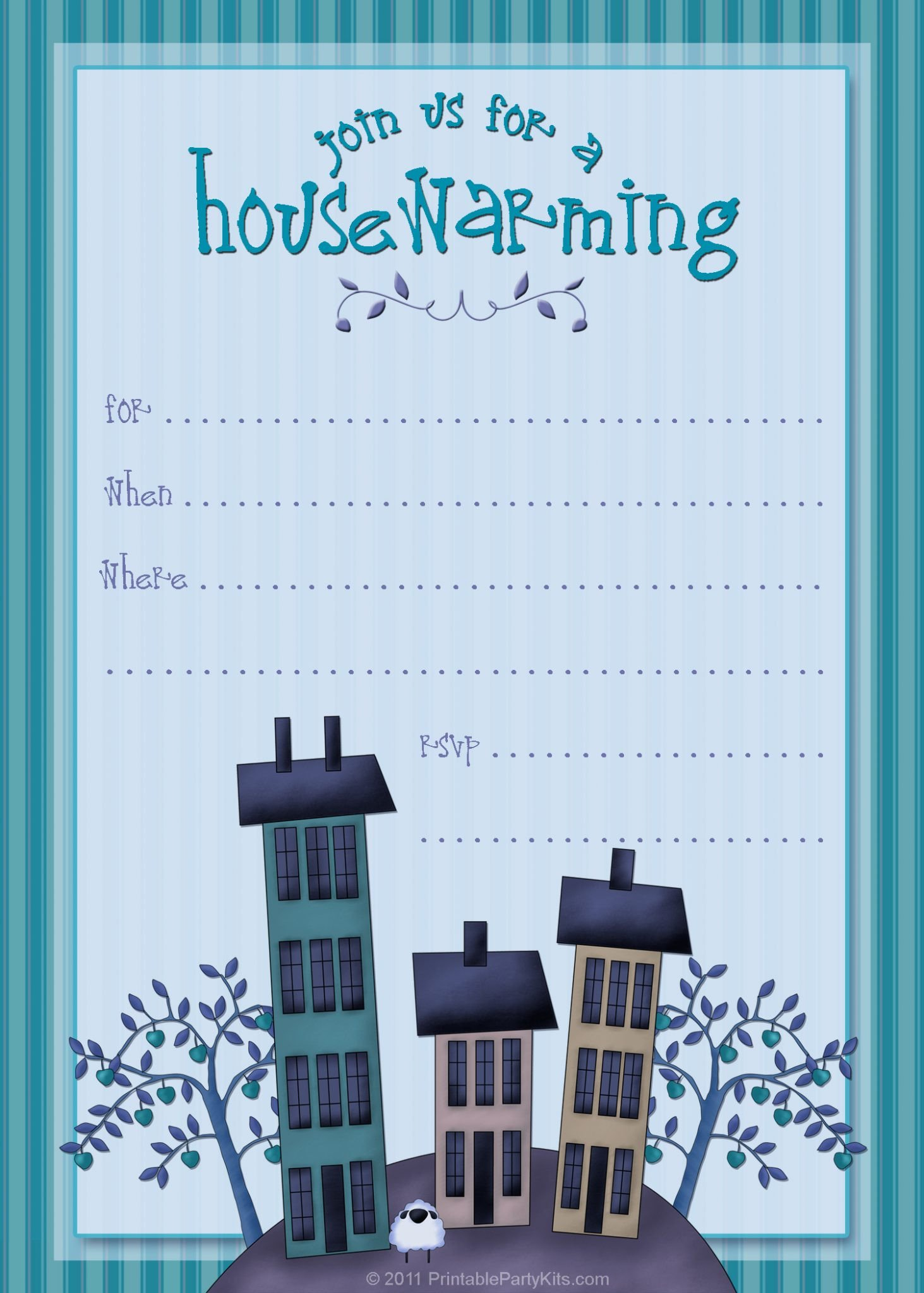 Free Housewarming Invitation Templates Free Printable Housewarming Party Invitations Printable