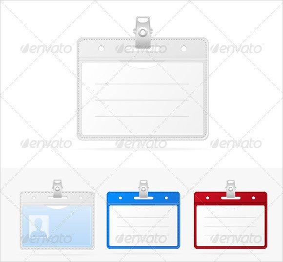 Free Id Badge Templates 11 Id Badge Templates Psd Vector Eps