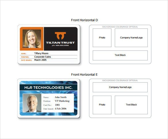 Free Id Badge Templates Id Card Template 19 Download In Psd Pdf Word