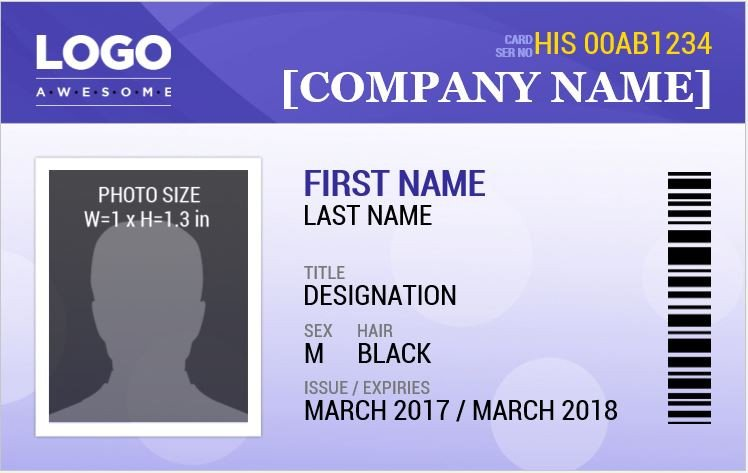 Free Id Badge Templates Ms Word Id Badge Templates for All Professionals