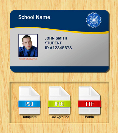 Free Id Card Templates Student Id Templates Download