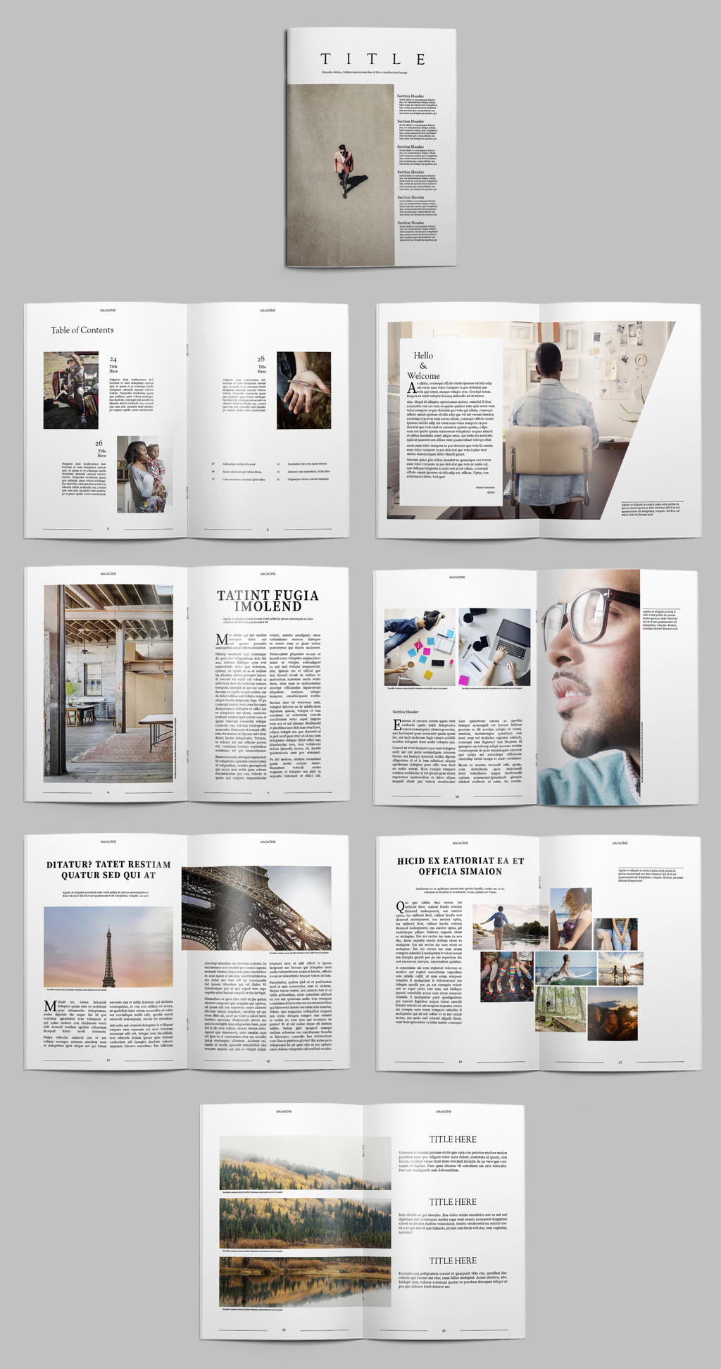 Free Indesign Flyer Templates Free Indesign Magazine Templates
