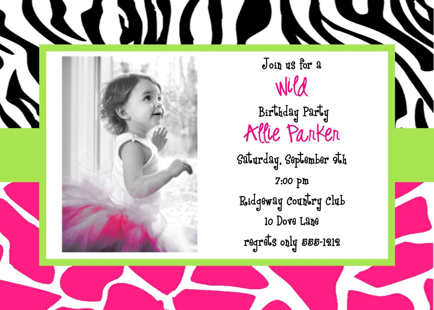 Free Invitation Template Printable How to Choose the Best E Free Printable Birthday