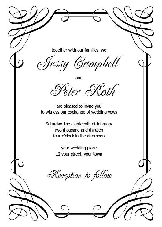 Free Invitation Template Word 1000 Ideas About Invitation Templates On Pinterest