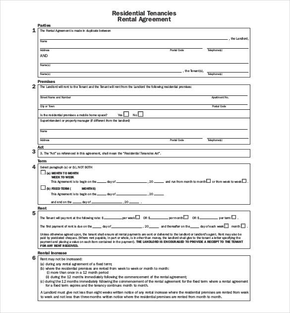 Free Lease Agreement Template Download 29 Lease Agreement Templates Word Pdf